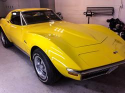 Polishing Classic Cars