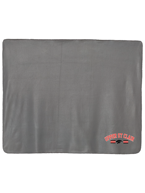 Alpine Fleece Blanket with Embroidered Logo