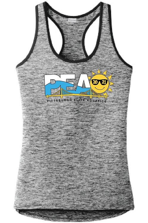 PEAQ Summer Logo Ladies Racerback Tank