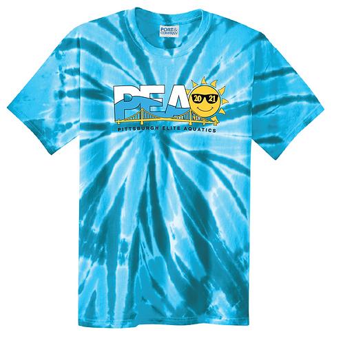 PEAQ Summer Logo Tie-Dye Tee