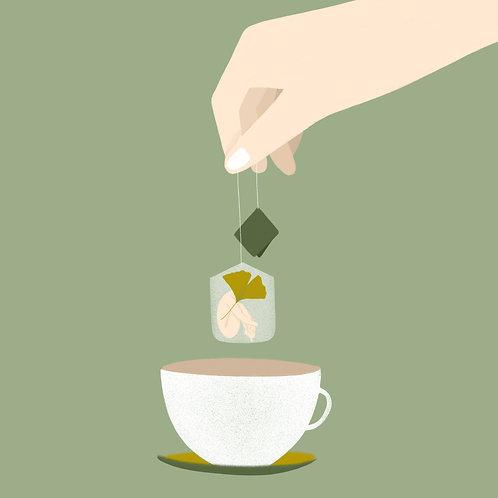 In una tazza di te