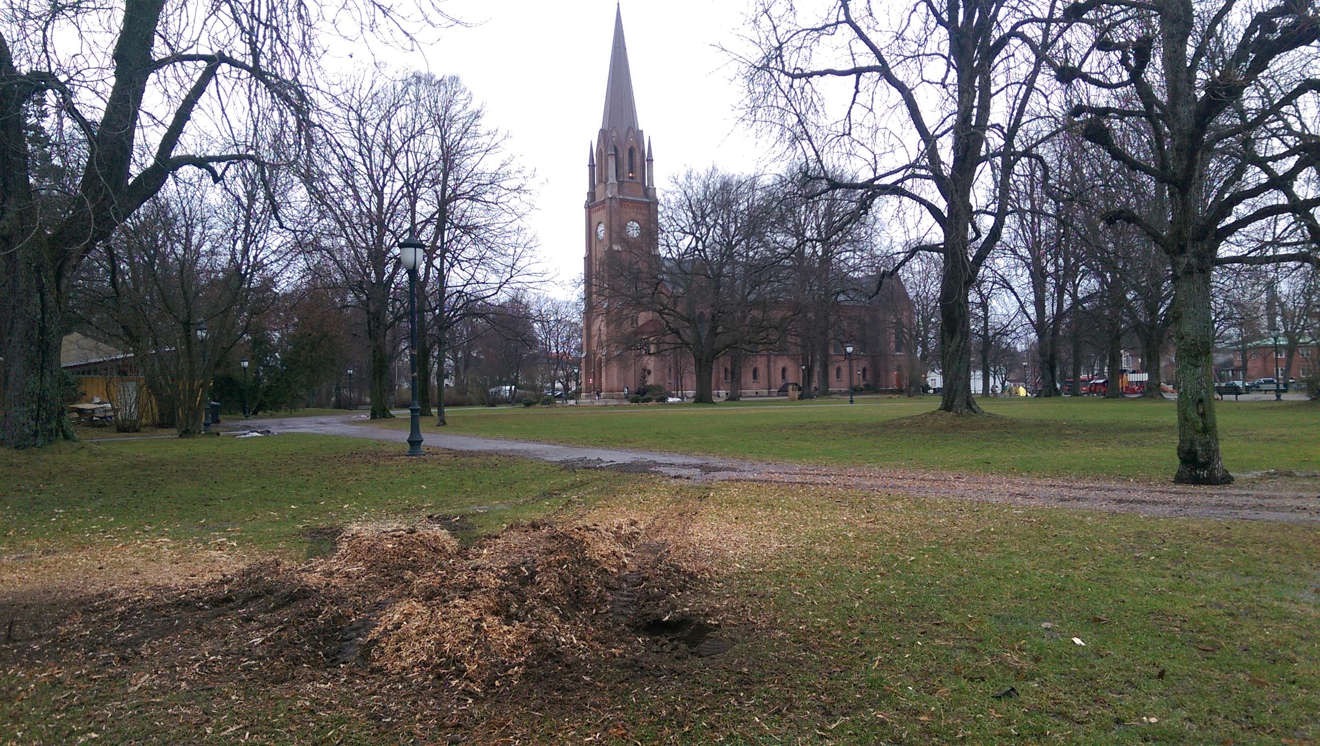 Domkirkeparken for Fr.stad kommune