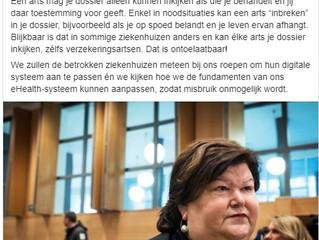 Hier kan je lezen hoe Nexuz health en De Block en UZ Leuven de inbraken in medische dossiers als een