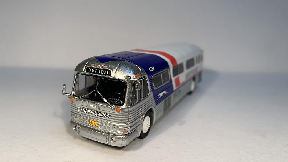 """87-0208 / 1:87 GM PD4104 Greyhound """"DETROIT"""" Pepsi scheme"""