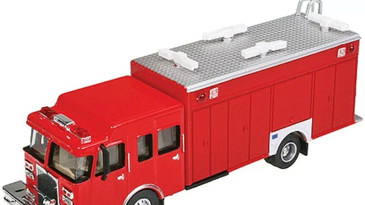 949-13802 / HO 1:87 HAZMAT fire truck by Walthers
