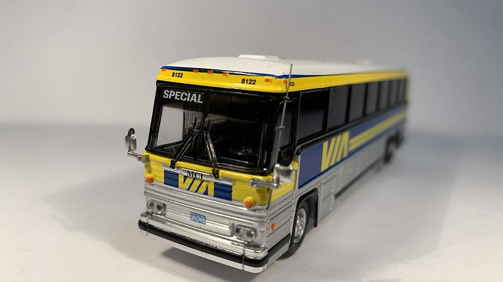 "87-0230 / 1:87 1984 MCI MC-9 VIA Rail ""SPECIAL "" custom destination"