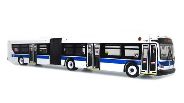 87-0194 / 1:87 New Flyer Xcelsior XD60 articulated NYC MTA bus