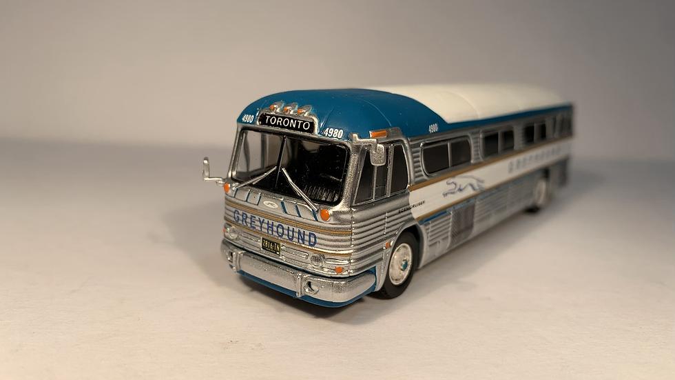 "87-0207 / 1:87 GM PD4104 * CUSTOMIZED * Motorcoach Greyhound - ""TORONTO"""