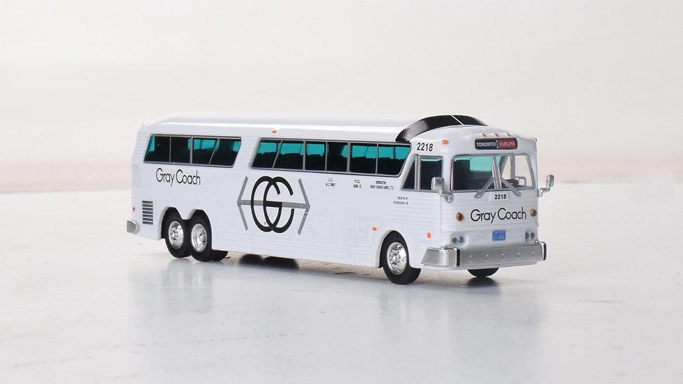 87-0270 / 1:87 MCI MC-7 Gray Coach by Iconic Replicas