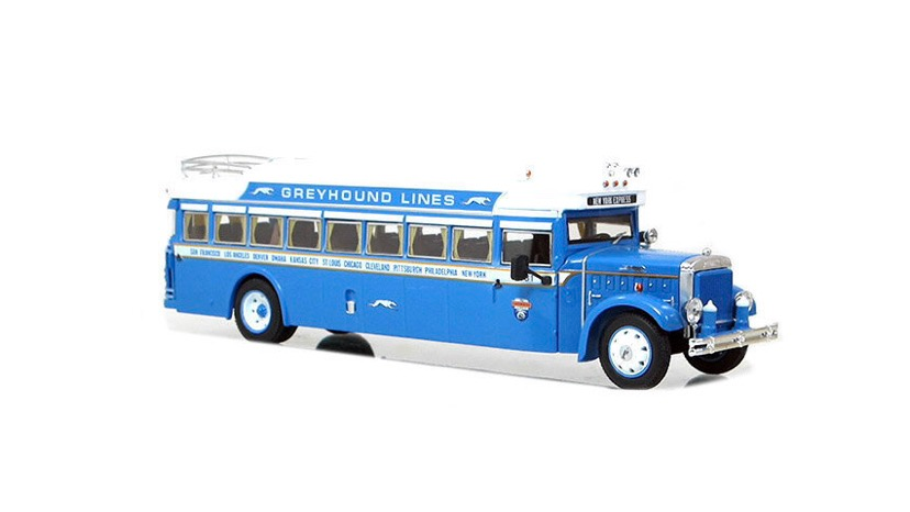 16001 / 1:50 scale 1931 Greyhound Lines BK Parlour coach