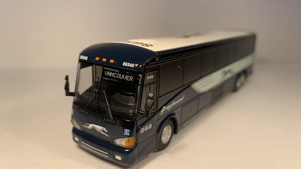 "87-0122 / 1:87 MCI D4505 Greyhound Lines ""VANCOUVER"" Custom destination"