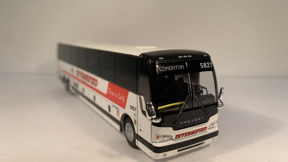 """87-0252 / 2020 Prévost X3-45 """"EDMONTON"""" Diversified Transportation Limited coach"""