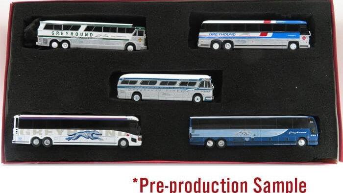 87-0341  / Greyhound Canada Trubute set (5 units)