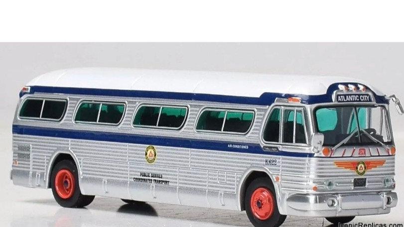 "1:87 GM PD4104 Public Service Coordinated Transport ""Atlantic City'  Iconic Repl"