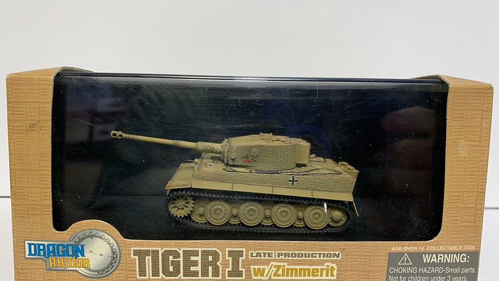 1:72 German Tiger tank late production Eastern Front Dragon Armour