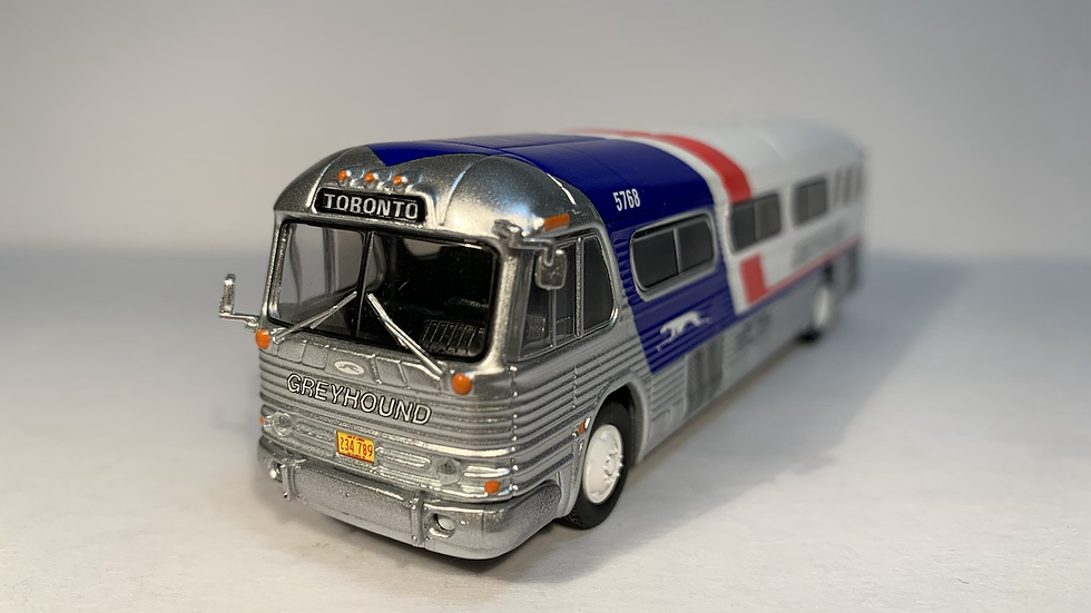 "87-0208 / 1:87 GM PD4104 ""TORONTO"" Greyhound ""Pepsi Scheme """