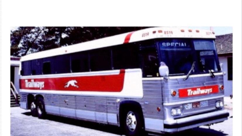 87-0229 / 1:87 1984 MCI MC-9 Trailways