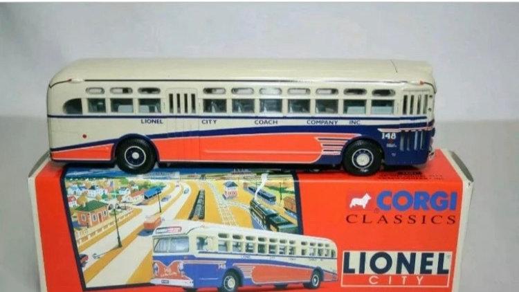 54103 / 1:43 O scale GM 4507 Lionel City Coach Company by Corgi