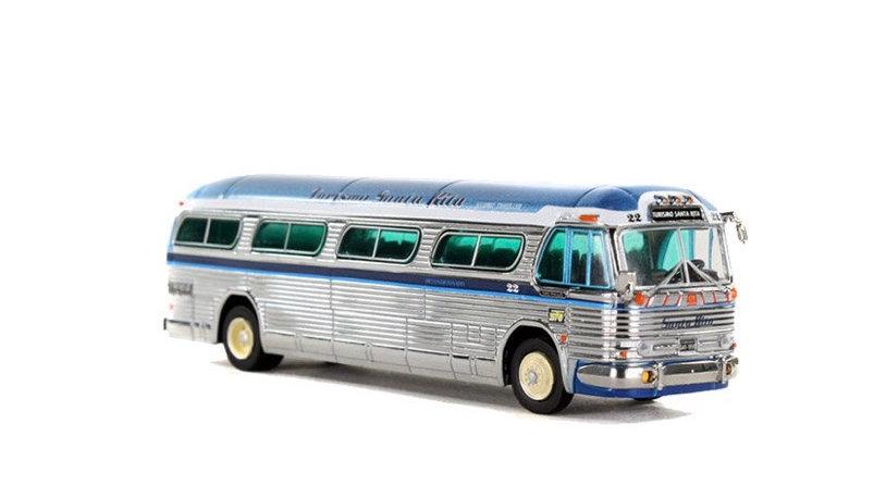 87-0144 / 1:87 Tourismo Santa Rita GM PD4104 chrome motor coach 1:87 scale