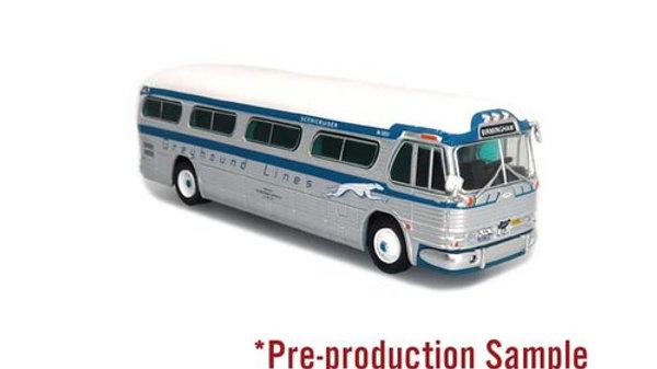 87-0298 / 1:87 GM PD4104 Greyhound Freedom Riders