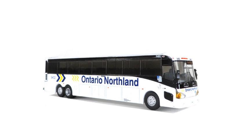 87-0223 / 1:87 Ontario Northland bus lines MCI D4505 motor coach