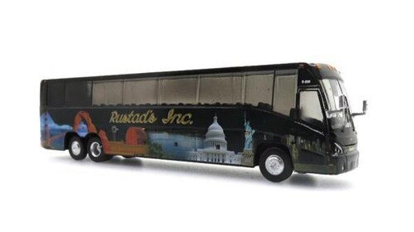 87-0111 / 1:87 MCI J4500 Rustad Tours Iconic Replicas
