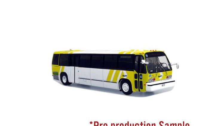 87-0319 / 1:87 TMC RTS Transit bus Dart Dallas