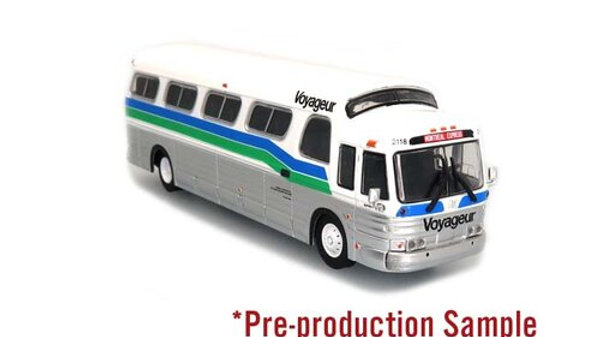 87-0287 / 1:87 HO scale GM PD4107  Voyageur Colonial Iconic Repl