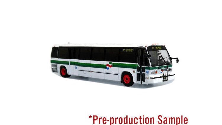 87-0317 / 1:87 TMC RTS Transit bus AC Transit