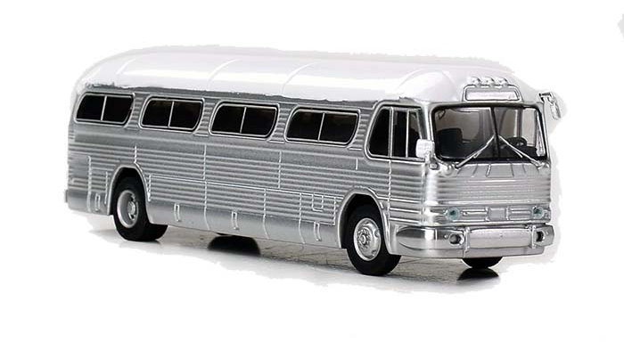 87-0206 / 1:87 GM PD4104 Motorcoach UNDECORATED