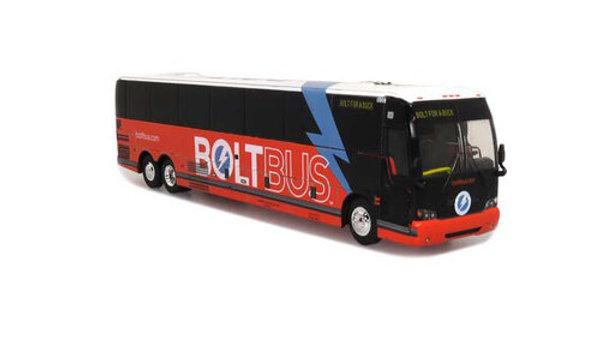 87-0276 / 1:87 Prevost X3-45 Bolt Bus  Iconic Replicas