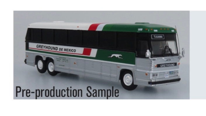 87-0324 / 1:87 MCI MC-9 Greyhound Mexico