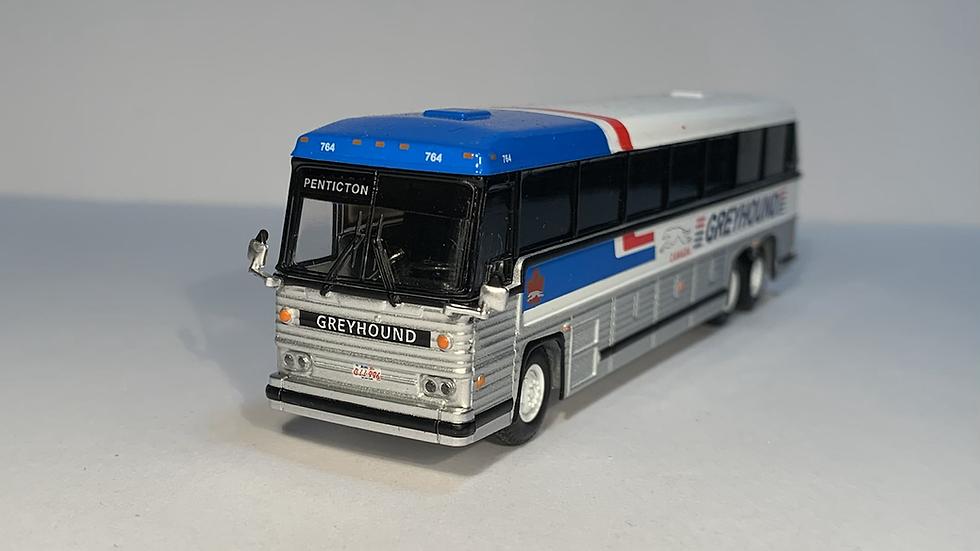 "87-0246 / 1:87 1984 MCI MC-9 ""PENTICTON"" Greyhound Canada"