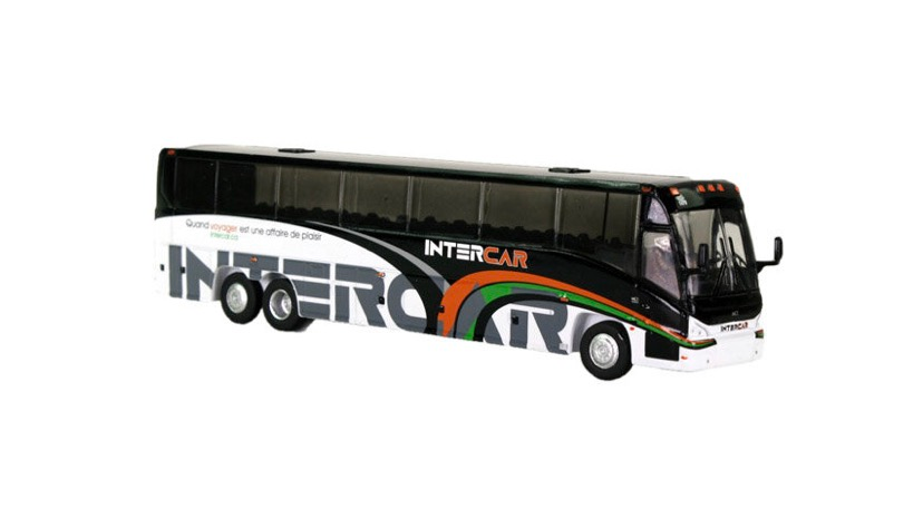 12-1-3-0089 / 1:87 Intercar Quebec MCI J4500 motor coach