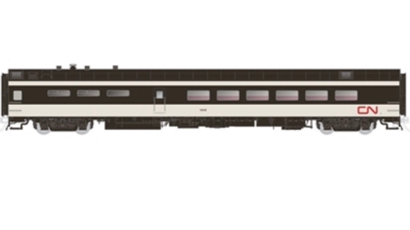 124005 / HO 1:87 Canadian National Dining Car #1339