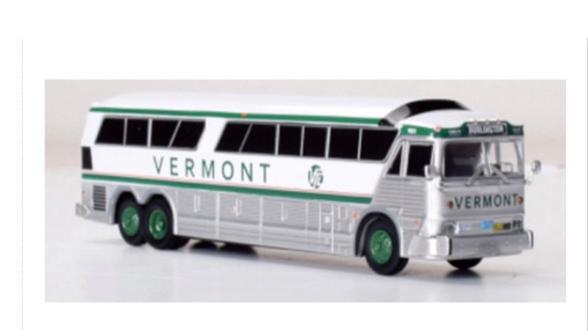 87-0256 / 1:87 1970 MCI MC-7 Vermont Transit Lines