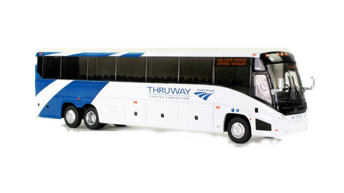 87-0112  / 1:87 MCI J4500 Motorcoach Amtrak Thruway