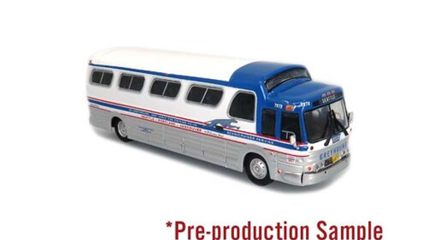 """87-0278 /1:87 HO scale GM PD4107 Greyhound """"Seattle"""" Iconic Replicas"""