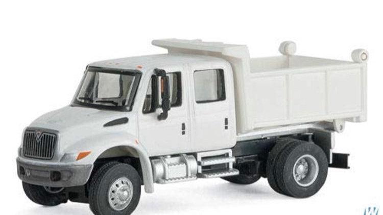 949-11634 / 1:87 HO scale International 4300 crew cab MOW dump truck