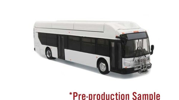 87-0064 / 1:87 HO scale New Flyer Xcelsior Transit bus Blank/white Iconic