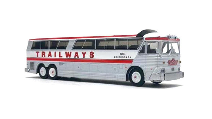 "87-0187 / 1:87 MCI MC-7 Challenger Motorcoach Trailways ""Albany"""