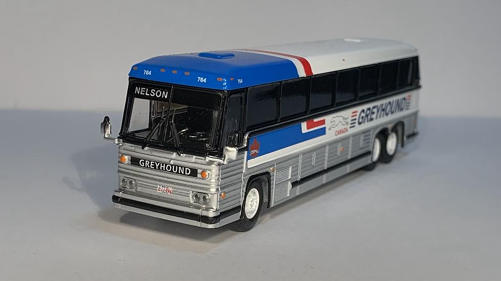 "87-0246 / 1:87 1984 MCI MC-9 ""NELSON "" Greyhound Canada"