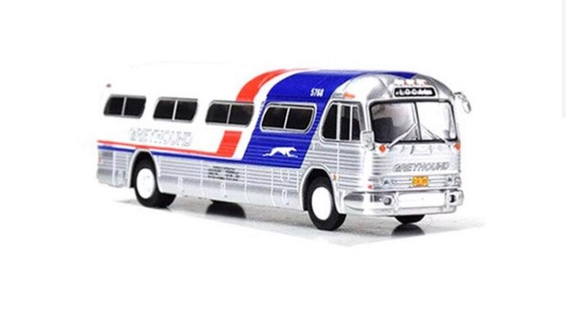 """87-0208 / 1:87 GM PD4104 Greyhound """"Pepsi Scheme """""""