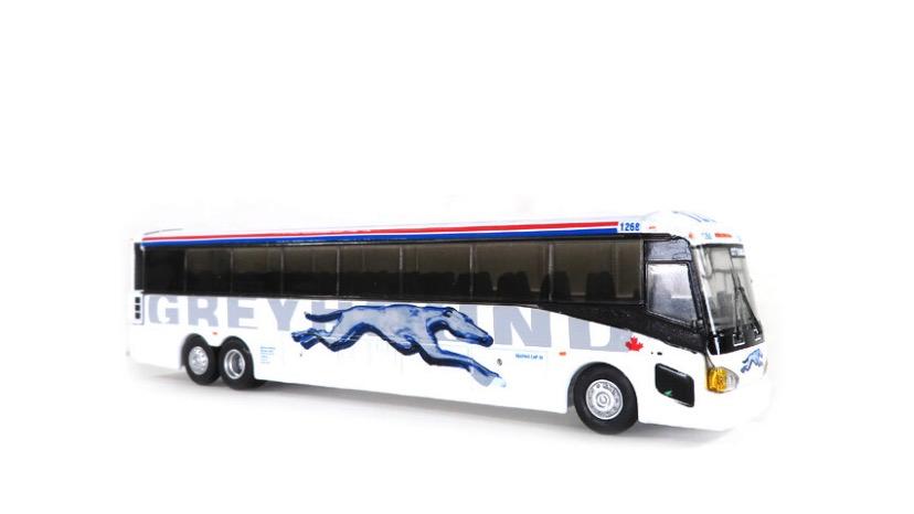 87-0219 / 1:87 Greyhound Canada MCI D4505 motor coach