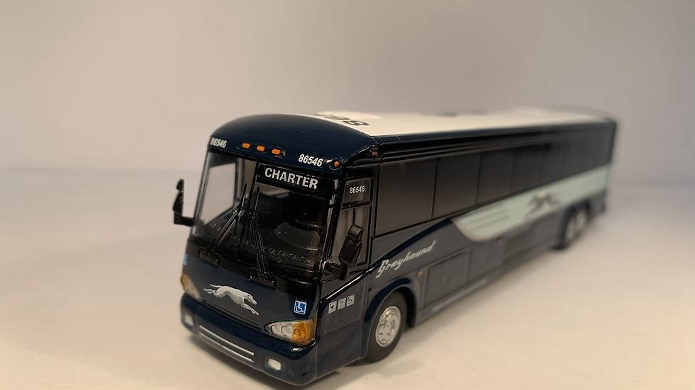 "87-0122 / 1:87 MCI D4505 Greyhound Lines ""CHARTER"" custom destination"