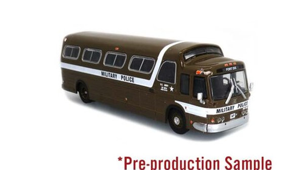 87-0289 / 1:87 HO scale GM PD4107  US Army Military Police Iconic Repl
