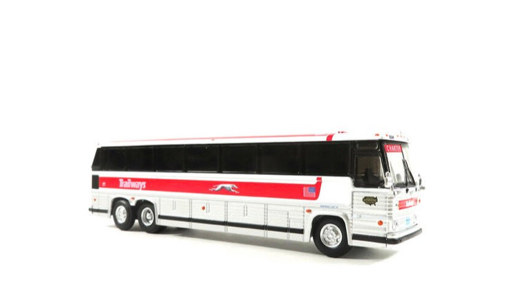 87-0229 / 1:87 1984 MCI MC-9 Trailways