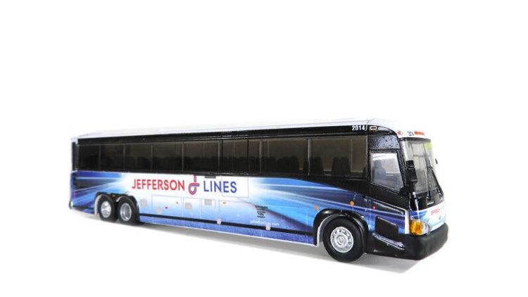 "87-0221 / 1:87 MCI D4505 Jefferson Lines ""Minneapolis"""