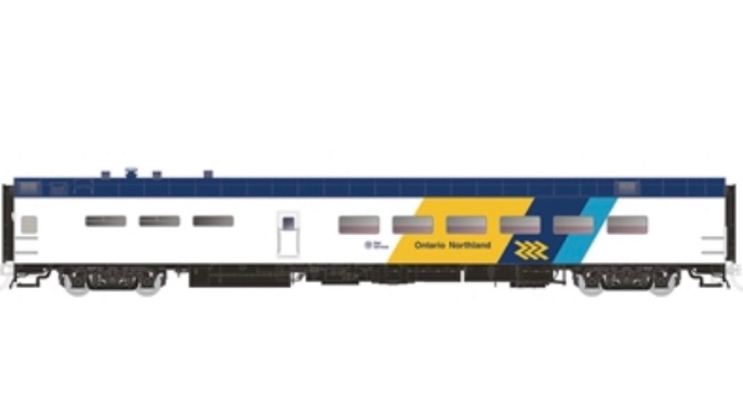"124049 / HO 1:87 Ontario Northland P-S Dining Car ""Moose River"""