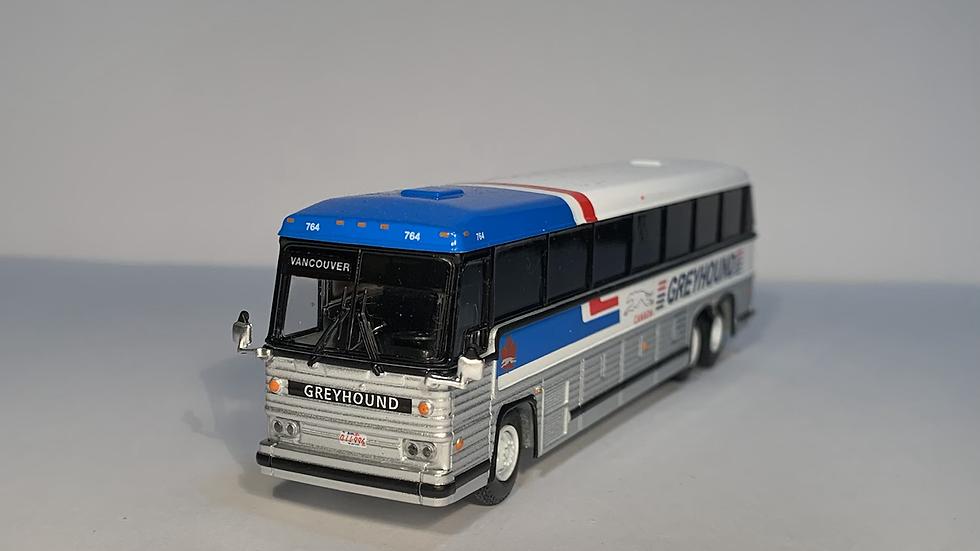"87-0246 / 1:87 1984 MCI MC-9 ""VANCOUVER"" Greyhound Canada"